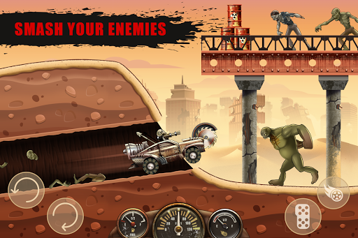 Hill Zombie Racing - Earn To Climb