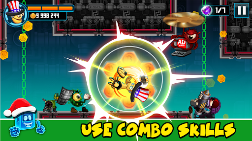 Kick the Man - Free shooting Action platformer