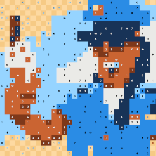 Pixel Links: The Relaxing Coloring