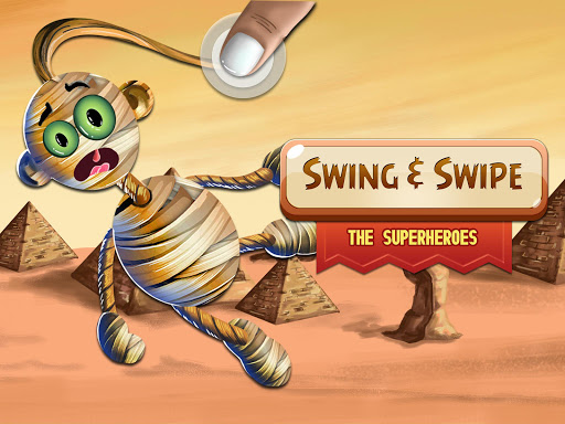 Swing & Swipe the Superheroes