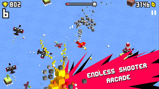 Wingy Shooters - Endless Arcade Flyer