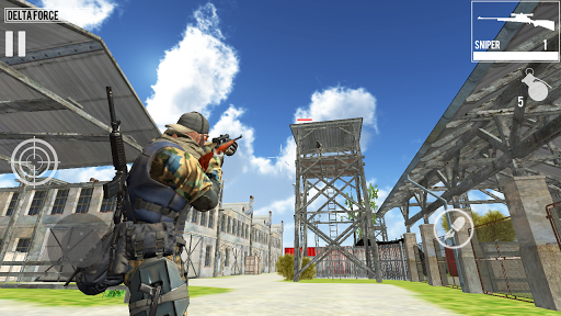 Delta Force Shooting Games