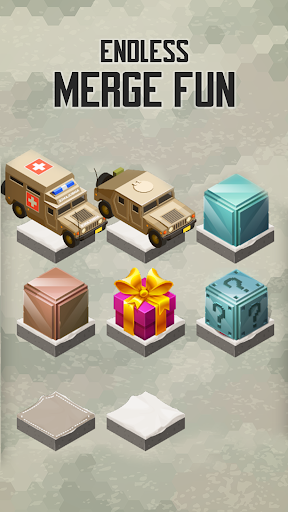 Merge Military Vehicles Tycoon - Idle Clicker Game
