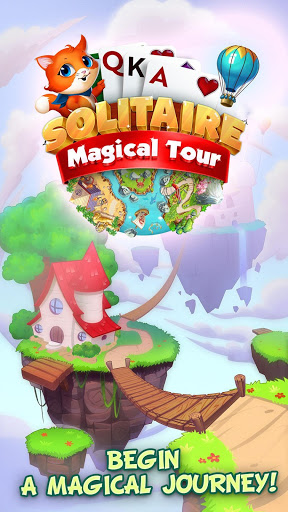Solitaire Magical Tour: Tripeaks Puzzle Adventure