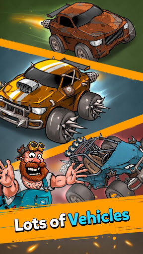 Battle Car Tycoon: Inaktive Fusionsarena