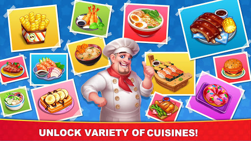 Cooking Hot - Best Crazy Chef's Restaurant Games