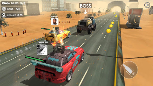 Death Race Road Battle