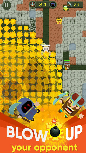 Dig Bombers: PvP multiplayer Battle Royale