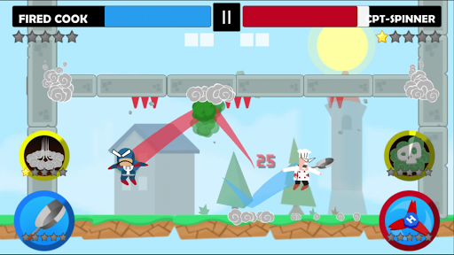 Jumping Ninja Battle - Two Player battle Action!