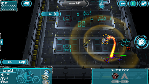 Sci Fi Tower Defense. Module TD 2