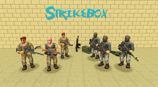 StrikeBox: Sandbox&Shooter