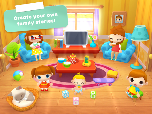 Sweet Home Stories - My family life play house