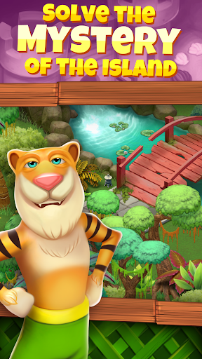 Animal Cove: Solve Puzzles & Design Your Island