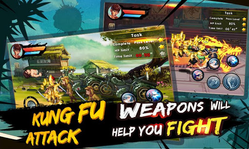 Kung Fu Attack:Offline Action RPG