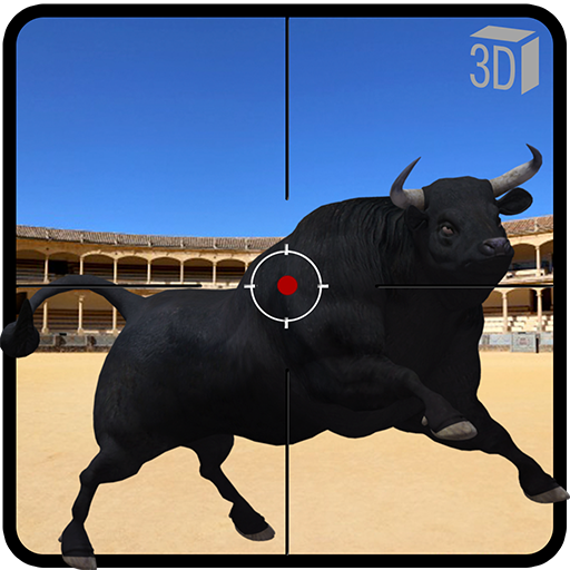 Angry Bull Fight Attack - Shooting