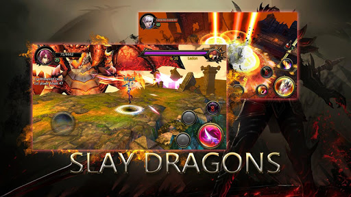 Dragons War Legends - Raid shadow dungeons
