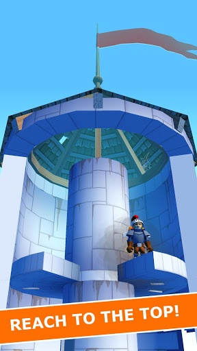 Jetpack Knight - The helix tower flyer
