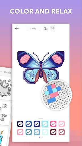 pixelart color by number sandbox coloring book mod apk undetected how to use game apps cheats. Black Bedroom Furniture Sets. Home Design Ideas