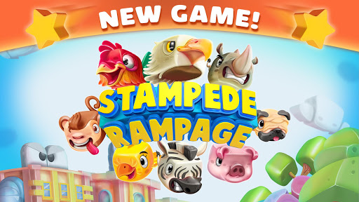 Stampede Rampage: Wild animals escaping the city🐷