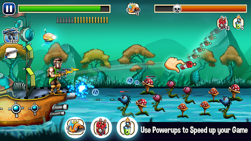 Island under attack - free shooting game