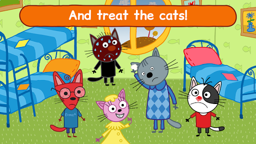 Kid-E-Cats Doctor Games for Kids and Pet Hospital
