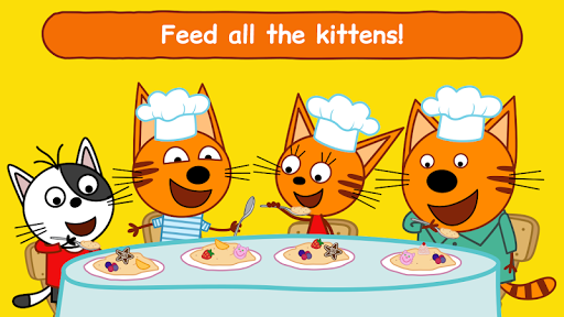 Kid-E-Cats: Kitchen Games & Cooking Games for Kids