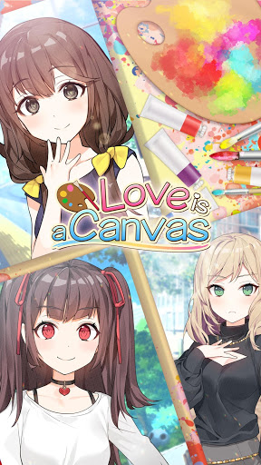 Love is a Canvas : Anime Girlfriend Game