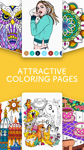 Paint.ly Color by Number - Fun Coloring Art Book