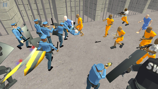 Battle Simulator: Prison & Police