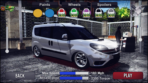 Doblo Drift & Driving Simulator