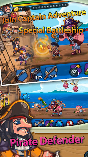 Pirate Defender: Strategy Captain TD
