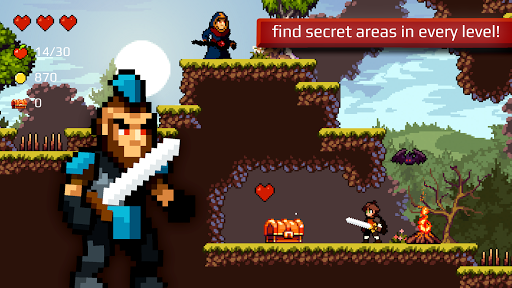 Apple Knight: Action-Adventure Platformer