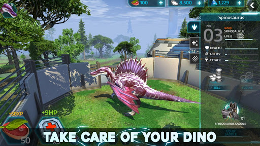 Dino Tamers - Jurassic Riding MMO
