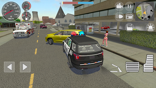 Police Cop Simulator. Gang War