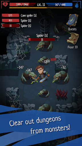 Roguelike RPG In Dungeon - Order of Fate Offline