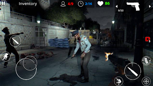 Zombie War Survival: Offline Zombie Shooting Games