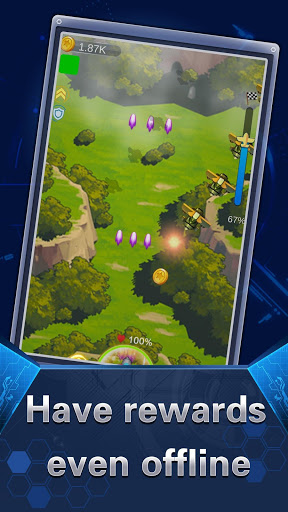 Airplane Defense: Idle Games