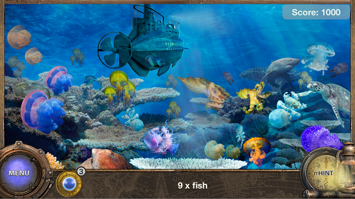 Captain Nemo - Hidden Object Adventure Games Free