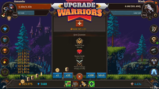 Clicker Warriors - Idle RPG