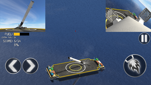 First Stage Landing Simulator