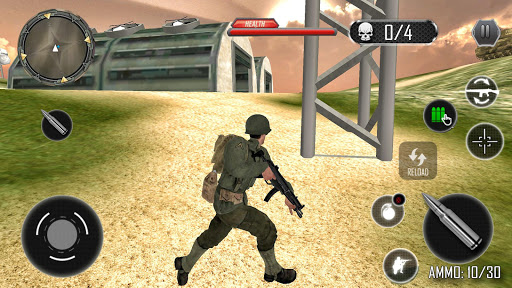 Last Commando Survival: Free Shooting Games