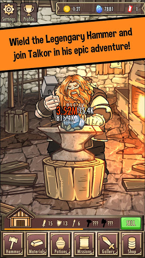 Medieval Clicker Blacksmith - Best Idle Tap Games