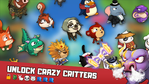 Critter Clash: Slingshot Battle