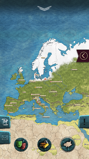 Europe 1784 - Military strategy