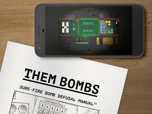 Them Bombs: co-op board game play with 2-4 friends