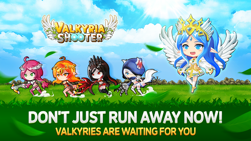Valkyria Shooter – Running & Shooting