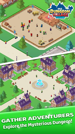 Idle Dungeon Village Tycoon - Adventurer Village