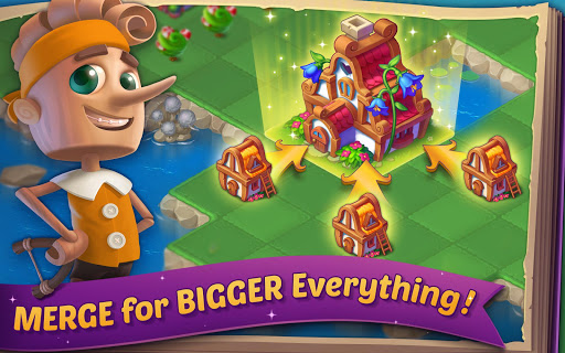EverMerge: Merge & Build A Magical Enchanted World