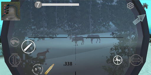 Hunting Simulator Game. The hunter simulator
