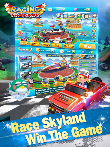 Racing Transform - Skyland Race